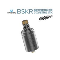 VANDY VAPE BSKR-BERSERKER V1.5 MINI MTL RTA-(バーサーカー)【ヴァンディーベイプ シングルビルドデッキ アトマイザー】