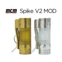 MCM MECH MODS Spike V2 MOD【エムシーエム スパイクブイツー メカニカルハイブリッド チューブ フィリピン】