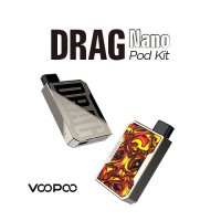 <img class='new_mark_img1' src='https://img.shop-pro.jp/img/new/icons1.gif' style='border:none;display:inline;margin:0px;padding:0px;width:auto;' />VOOPOO DRAG Nano Pod Kit【ブープー ドラッグナノ POD型スターターキット ボックスタイプ】
