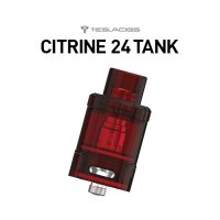 <img class='new_mark_img1' src='https://img.shop-pro.jp/img/new/icons1.gif' style='border:none;display:inline;margin:0px;padding:0px;width:auto;' />TESLACIGS CITRINE 24 TANK【テスラシグ シトリンタンク 交換用POD コイル アトマイザー】