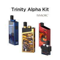 SMOK Trinity Alpha Kit【スモーク トリニティーアルファ スターターキット POD】