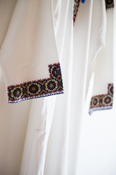 1960's traditional Ukrainian men's long shirt
