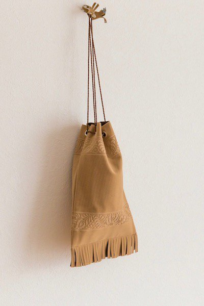 Flux suede pouch