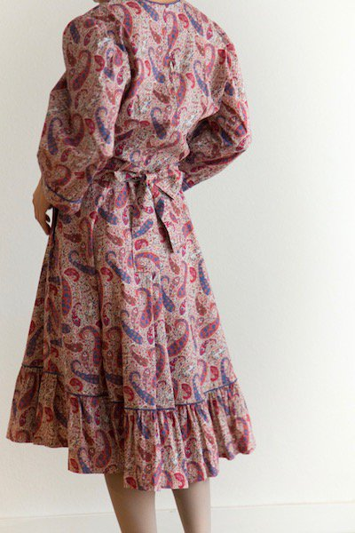 Paisley cotton dress