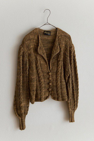 Tyrol cotton knit sweater cardigan