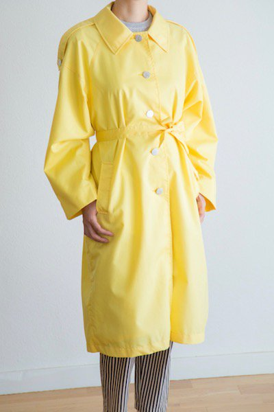 Russian bright yellow coat