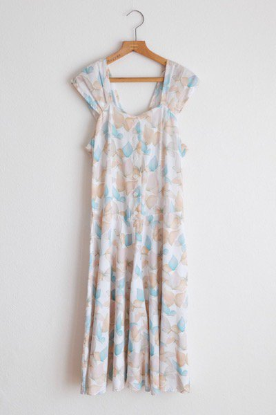 Flower&butterfly sheer dress