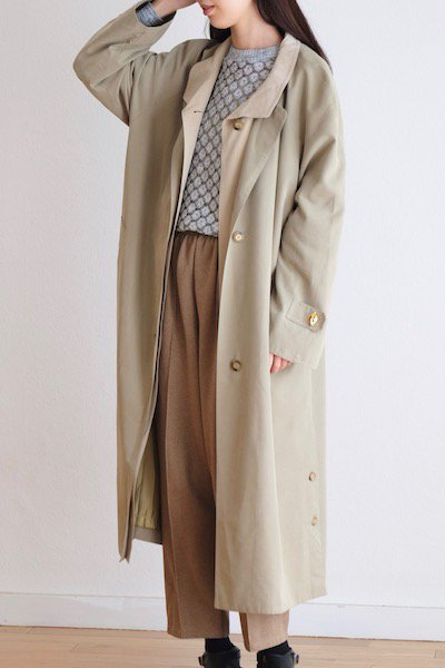 Front layered oversize coat