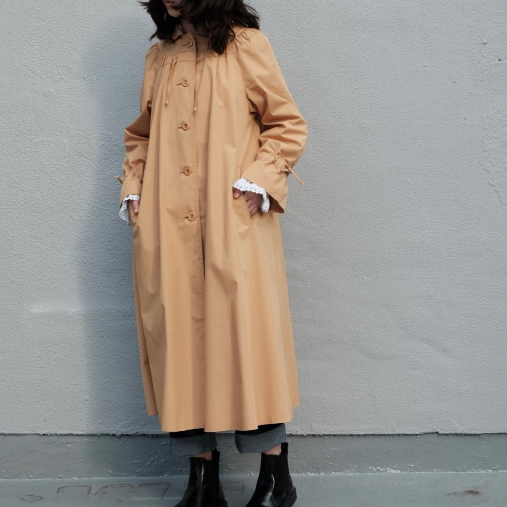 [VINTAGE] Mustard Yellow A-line Coat
