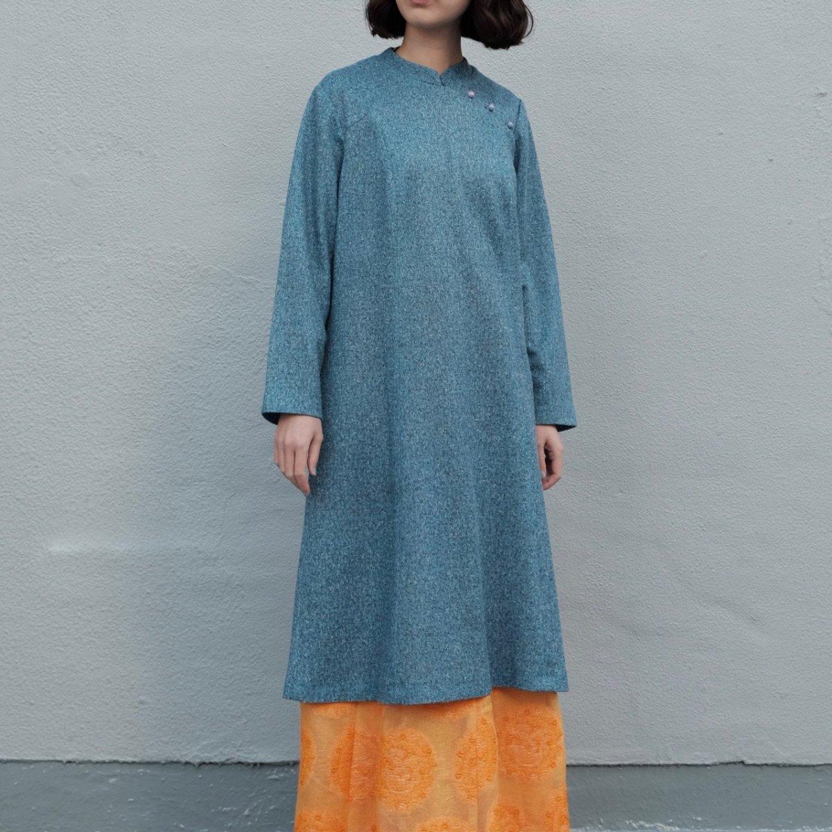 [VINTAGE] Snow Noise Blue Dress