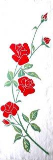 薔薇 (白地)