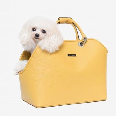 【CYRIANO(シリアノ)】Charlot -Mustard Yellow-