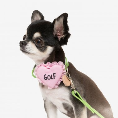 Golf Pink Heart Collar