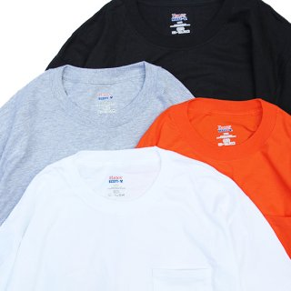 Hanes/Beefy-T® with Pocket_4colors