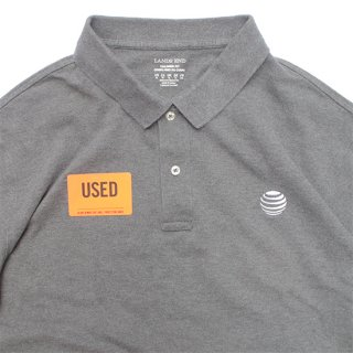 <img class='new_mark_img1' src='https://img.shop-pro.jp/img/new/icons5.gif' style='border:none;display:inline;margin:0px;padding:0px;width:auto;' />AT&T/Uniform Polo Shirt_Used