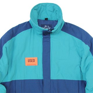 <img class='new_mark_img1' src='https://img.shop-pro.jp/img/new/icons5.gif' style='border:none;display:inline;margin:0px;padding:0px;width:auto;' />1980s Woolrich/Ski Jacket_Tarquoise×Navy,Used【M】