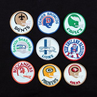 <img class='new_mark_img1' src='https://img.shop-pro.jp/img/new/icons5.gif' style='border:none;display:inline;margin:0px;padding:0px;width:auto;' />1990s NFL Team Patch