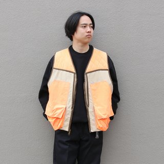 <img class='new_mark_img1' src='https://img.shop-pro.jp/img/new/icons5.gif' style='border:none;display:inline;margin:0px;padding:0px;width:auto;' />1990s Carhartt/Hunting Vest_C.H Brown,Used【XXL】