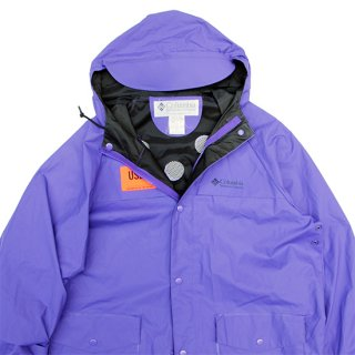 <img class='new_mark_img1' src='https://img.shop-pro.jp/img/new/icons5.gif' style='border:none;display:inline;margin:0px;padding:0px;width:auto;' />1990s Columbia Sportswear/PVC Rain Paraka_Purple,Used【M】