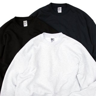 Los Angels Apparel/14oz. Heavyweight Sweatshirt_Made in USA,3色展開【M-XL】