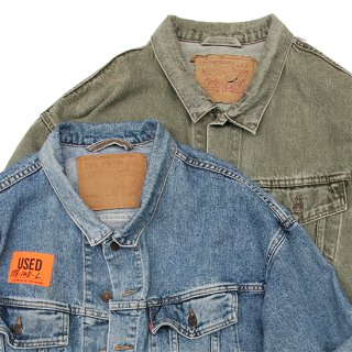 <img class='new_mark_img1' src='https://img.shop-pro.jp/img/new/icons5.gif' style='border:none;display:inline;margin:0px;padding:0px;width:auto;' />1990s Levi's/70598 Denim Trucker Jacket