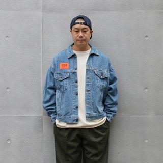 <img class='new_mark_img1' src='https://img.shop-pro.jp/img/new/icons5.gif' style='border:none;display:inline;margin:0px;padding:0px;width:auto;' />1990s Levi's/70507-4890 Trucker Jacket_Made in USA,S.W.Indigo,Used【L】
