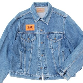 <img class='new_mark_img1' src='https://img.shop-pro.jp/img/new/icons5.gif' style='border:none;display:inline;margin:0px;padding:0px;width:auto;' />1980s Levi's/70506-0217 Denim Trucker Jacket_Made in USA,506-46,Indigo,Used【US 46】