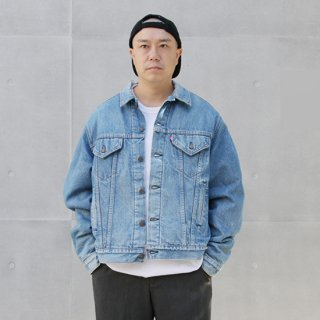 <img class='new_mark_img1' src='https://img.shop-pro.jp/img/new/icons5.gif' style='border:none;display:inline;margin:0px;padding:0px;width:auto;' />1980s Levi's/Blanket Lined Denim Trucker Jacket-70506-0314_Made in USA,Used【L】