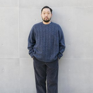 <img class='new_mark_img1' src='https://img.shop-pro.jp/img/new/icons5.gif' style='border:none;display:inline;margin:0px;padding:0px;width:auto;' />1990s Eddie Baure/Wool Sweater_Used【XL】