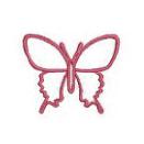 蝶々のセット-simple-