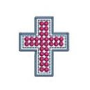 十字架-rhinestone -