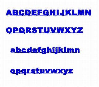 Tiny Block Font