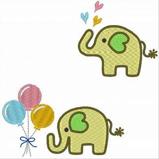 ゾウさんと風船のセット