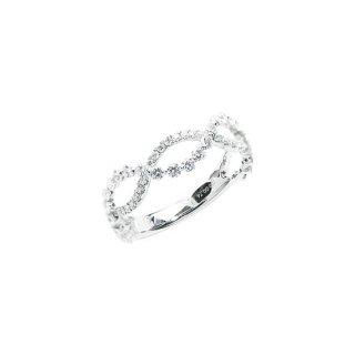 K18WGダイヤリング