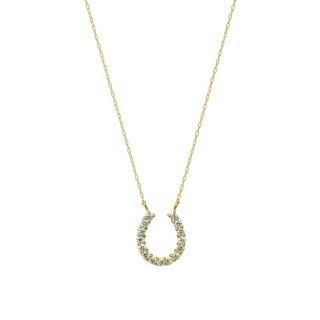 ダイヤモンド馬蹄ネックレス(JD-3-02)