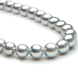 グレー真珠ネックレス [ MG-1 / MG-2 ]