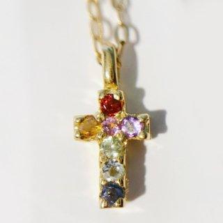 K18YG クロス(十字架)ネックレス