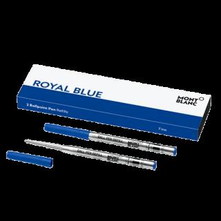 ボールペン リフィル(F,M,B)2本 ロイヤルブルー
