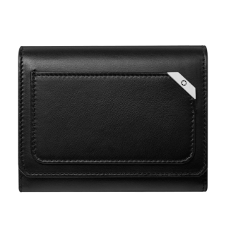 マイスターシュテュック アーバン フラップ&コインポケット付きビジネスカードホルダー