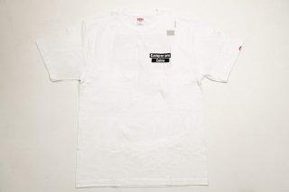Bug-truck ティーシャツ ロゴバックプリント【ホワイト】