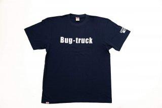 Bug-truck ティーシャツ フロントプリント【ネイビー】