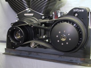 NH Power Belt Drive system Open type