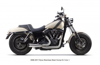Dyna  Comp-S Exhaust (2006-2017)