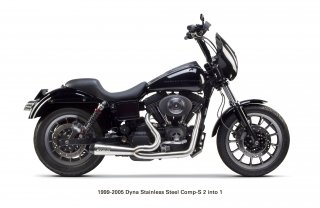 Dyna  Comp-S Exhaust (1999-2005)