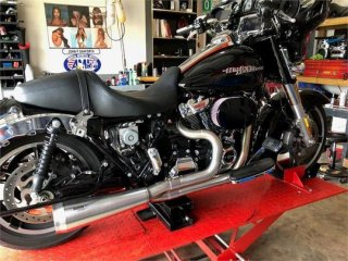 NhB Exhaust for Harley Davidson M8