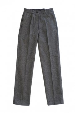 OLD JOE & Co For WOMEN - SACK TROUSER - GREY HERRINGBONE