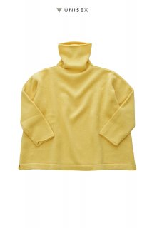 "humoresque ★★★ - CASHMERE BIG TURTLE ( UNISEX ) ""Phaeton Exclusive""- YELLOW"