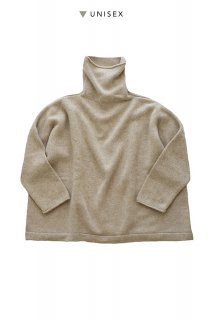 "humoresque ★★★ - CASHMERE BIG TURTLE ( UNISEX ) ""Phaeton Exclusive""- BEIGE"