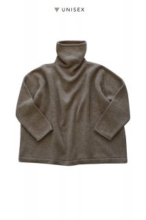 "humoresque ★★★ - CASHMERE BIG TURTLE ( UNISEX ) ""Phaeton Exclusive""- DARK BROWN"
