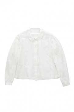 humoresque - A-LINE BLOUSE - WHITE